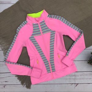 IVIVVA pink zip up jacket 12